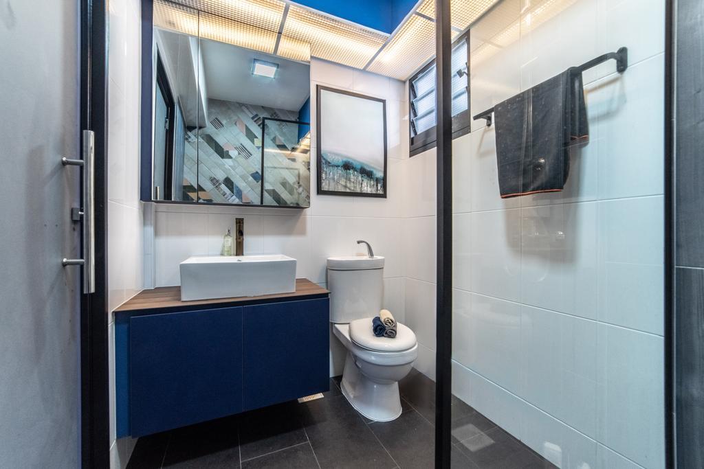 Contemporary, HDB, Bathroom, Buangkok Link, Interior Designer, Jialux Interior, Eclectic