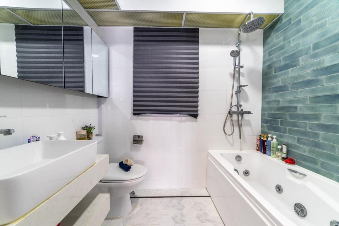 Canberra Walk (Block 108A), Jialux Interior, Modern, Bathroom, HDB, Bathtub, Bath Tub