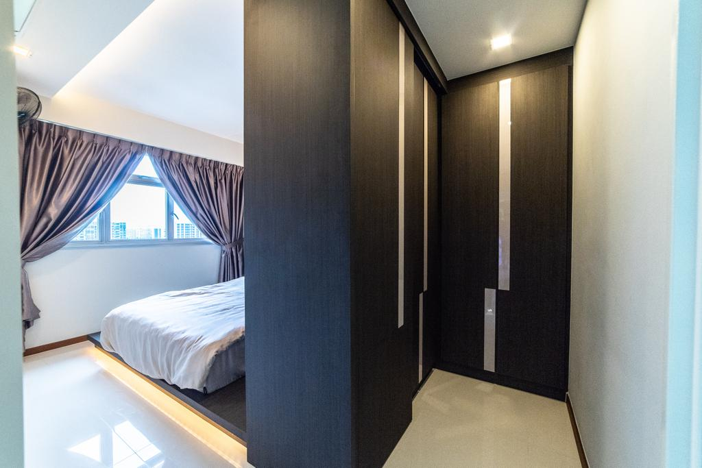 Contemporary, HDB, Bedroom, Sumang Lane (Block 221B), Interior Designer, Jialux Interior, Transitional