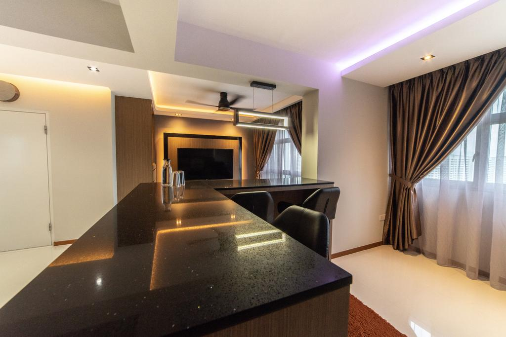 Contemporary, HDB, Sumang Lane (Block 221B), Interior Designer, Jialux Interior, Transitional