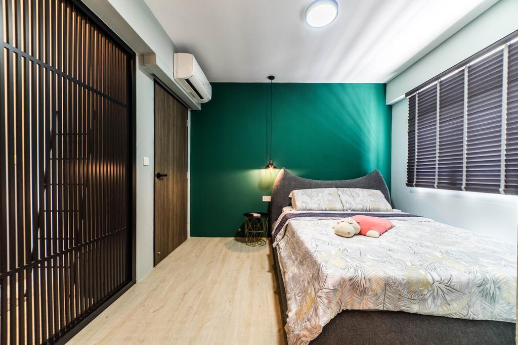 Contemporary, HDB, Bedroom, Bedok North Avenue 4, Interior Designer, Jialux Interior