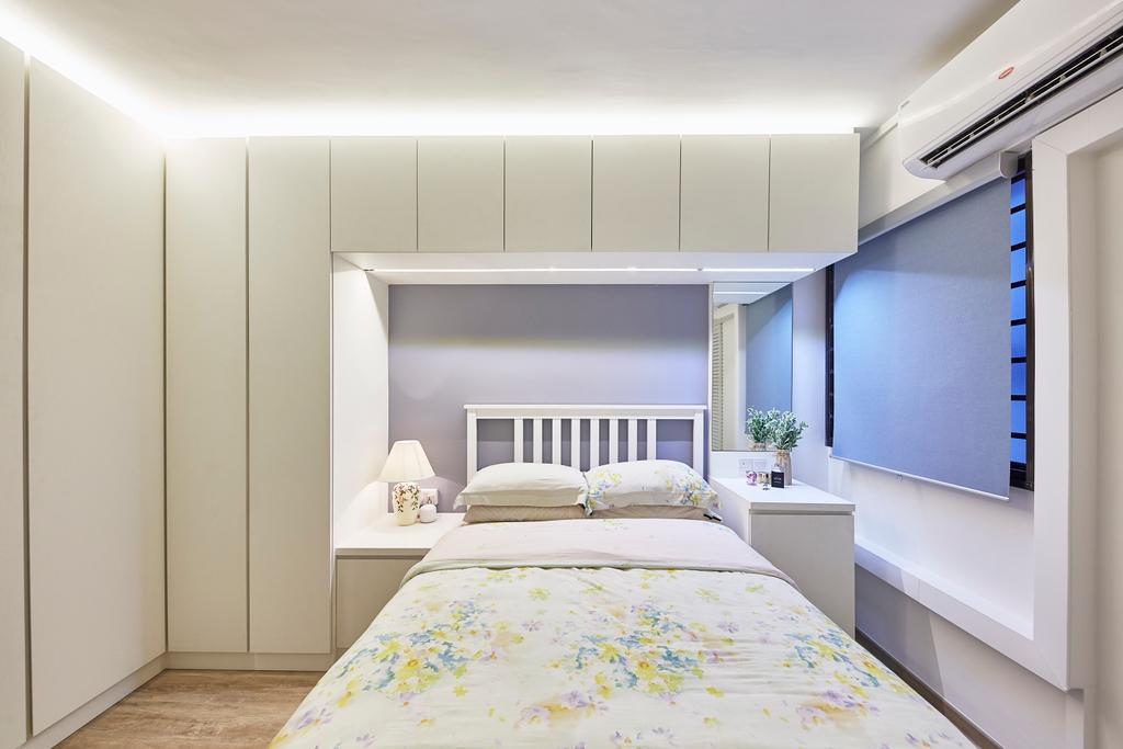 Contemporary, HDB, Bedroom, Yishun Street 71, Interior Designer, i-Chapter