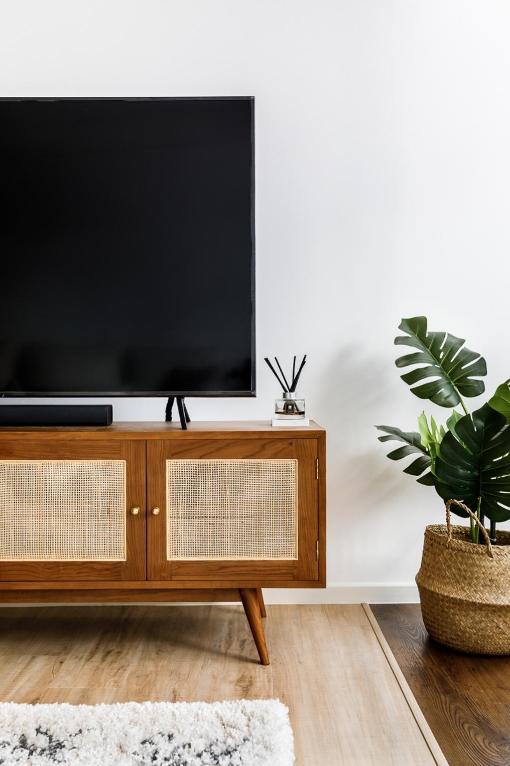 Minimalistic, HDB, Living Room, Jurong East Street 21, Interior Designer, Anhans Interior Design