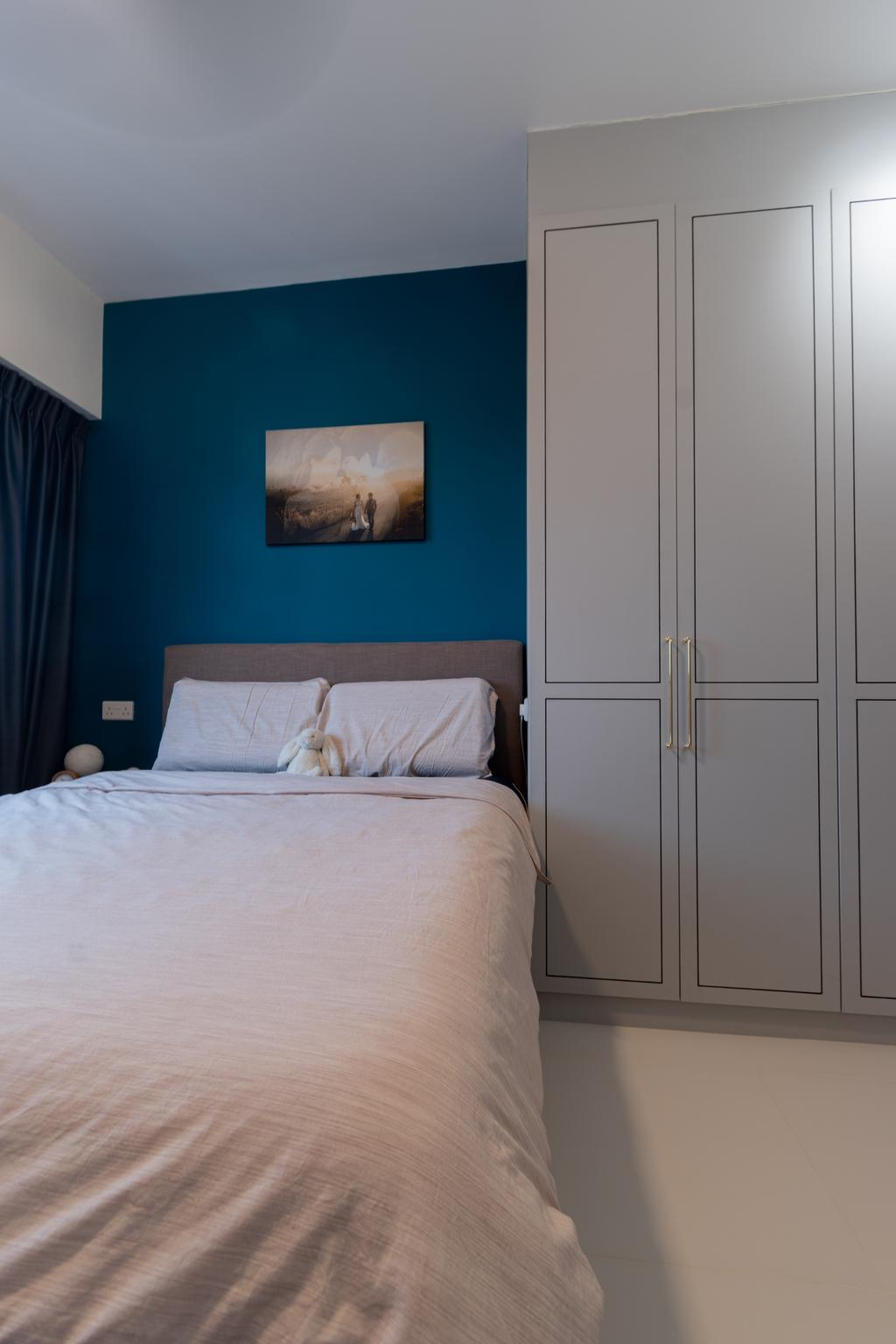Contemporary, HDB, Bedroom, Canberra Street, Interior Designer, Yang's Inspiration Design