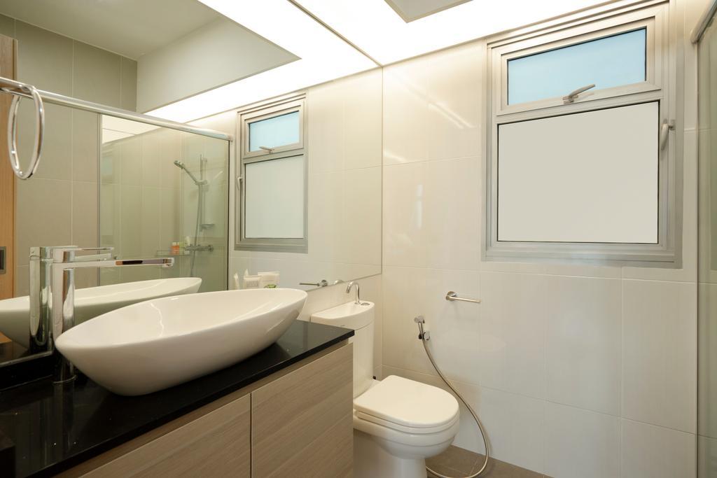 Contemporary, HDB, Bathroom, Canberra Street, Interior Designer, Great Oasis Interior Design, Modern