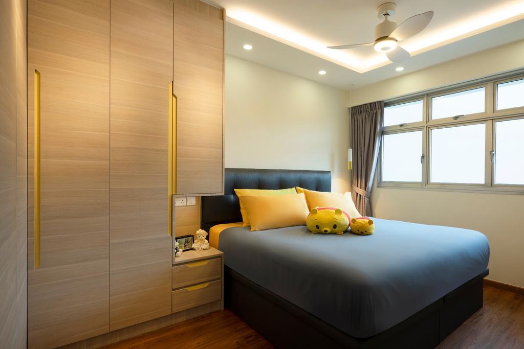 Contemporary, HDB, Bedroom, Canberra Street, Interior Designer, Great Oasis Interior Design, Modern