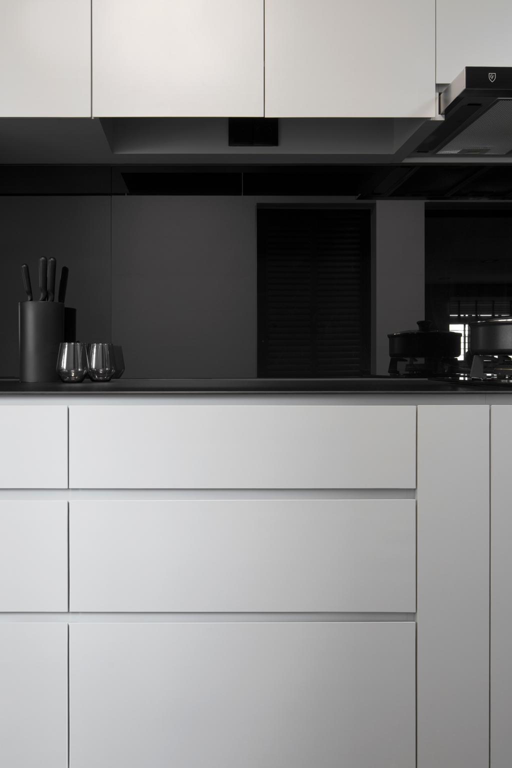 Contemporary, HDB, Kitchen, Rivervale Drive, Interior Designer, Ascend Design