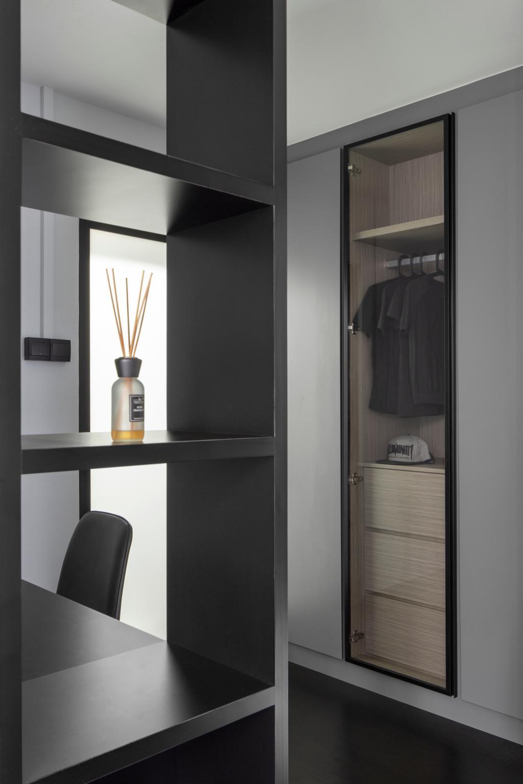 Contemporary, HDB, Bedroom, Rivervale Drive, Interior Designer, Ascend Design