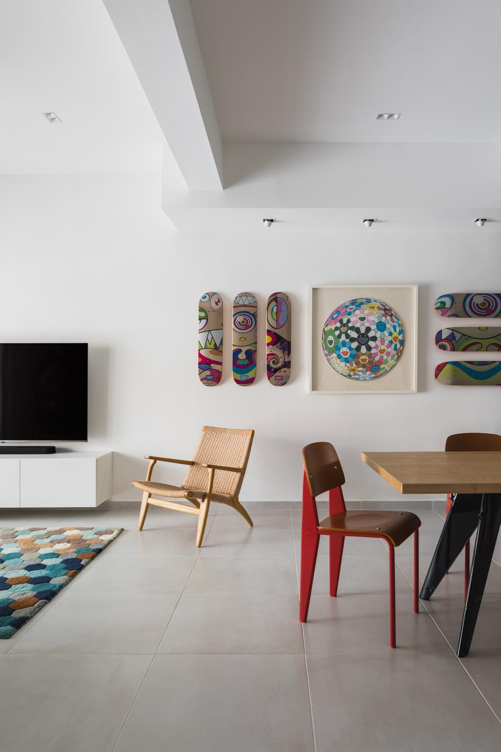 Contemporary, Landed, Living Room, Lorong Sarina, Interior Designer, LS2 Design & Construction