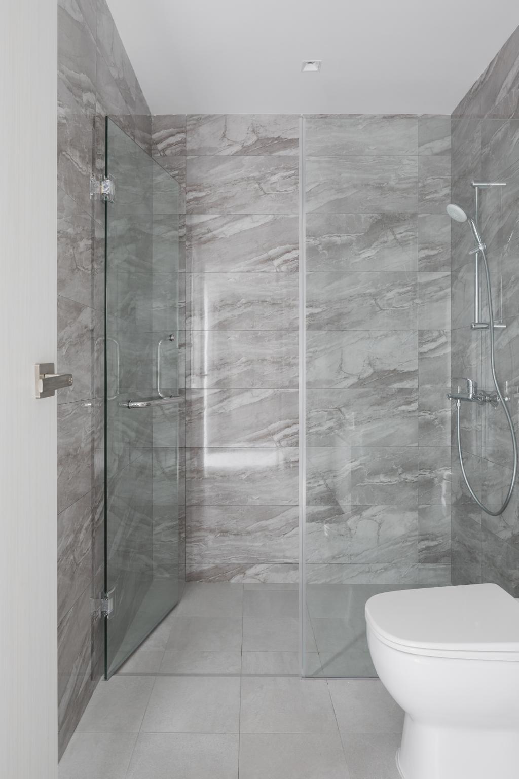 Contemporary, Landed, Bathroom, Lorong Sarina, Interior Designer, LS2 Design & Construction
