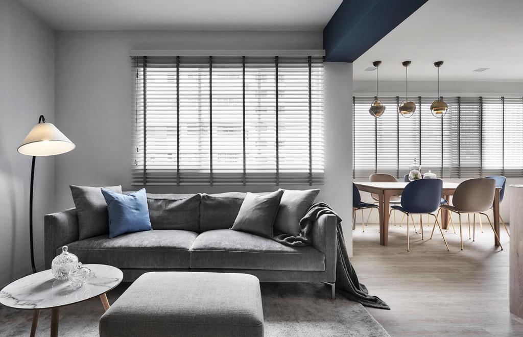 Contemporary, HDB, Living Room, Cantonment Close, Interior Designer, Dan's Workshop, Scandinavian