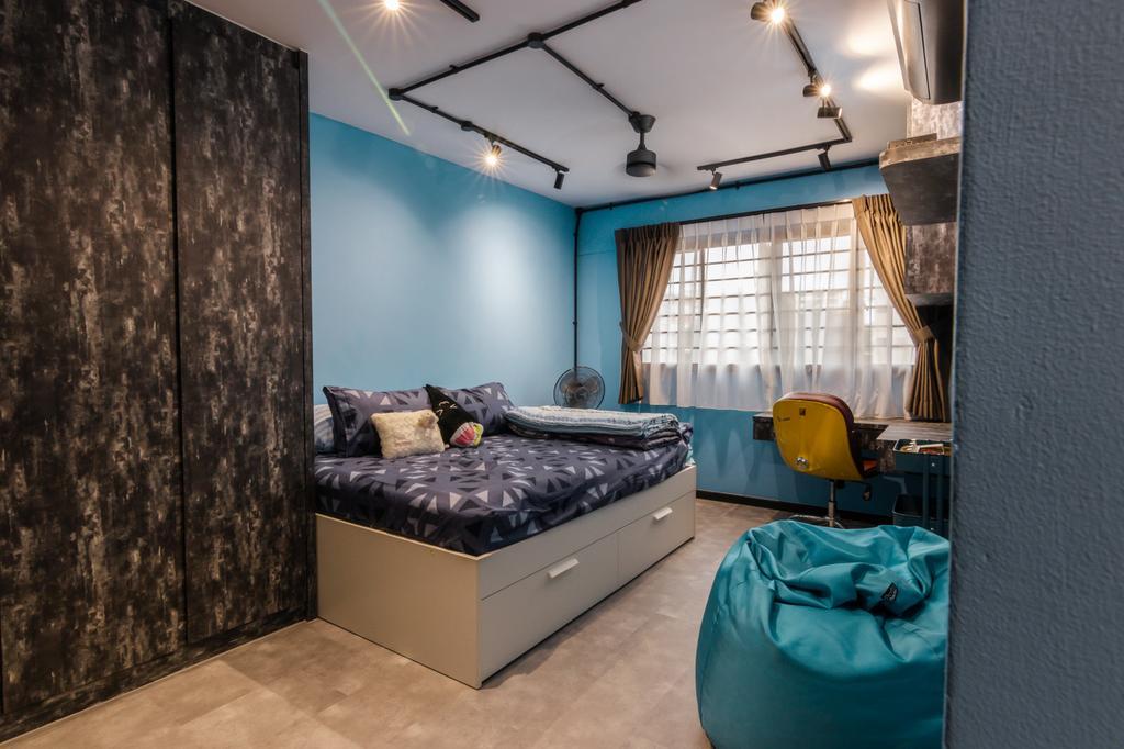 Modern, HDB, Bedroom, Bedok North Street 2, Interior Designer, 9 Creation
