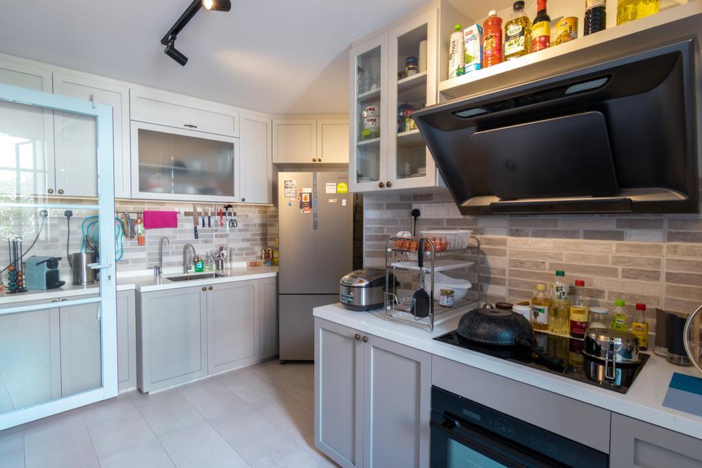 Contemporary, Condo, Kitchen, Paya Lebar Residences, Interior Designer, 9 Creation
