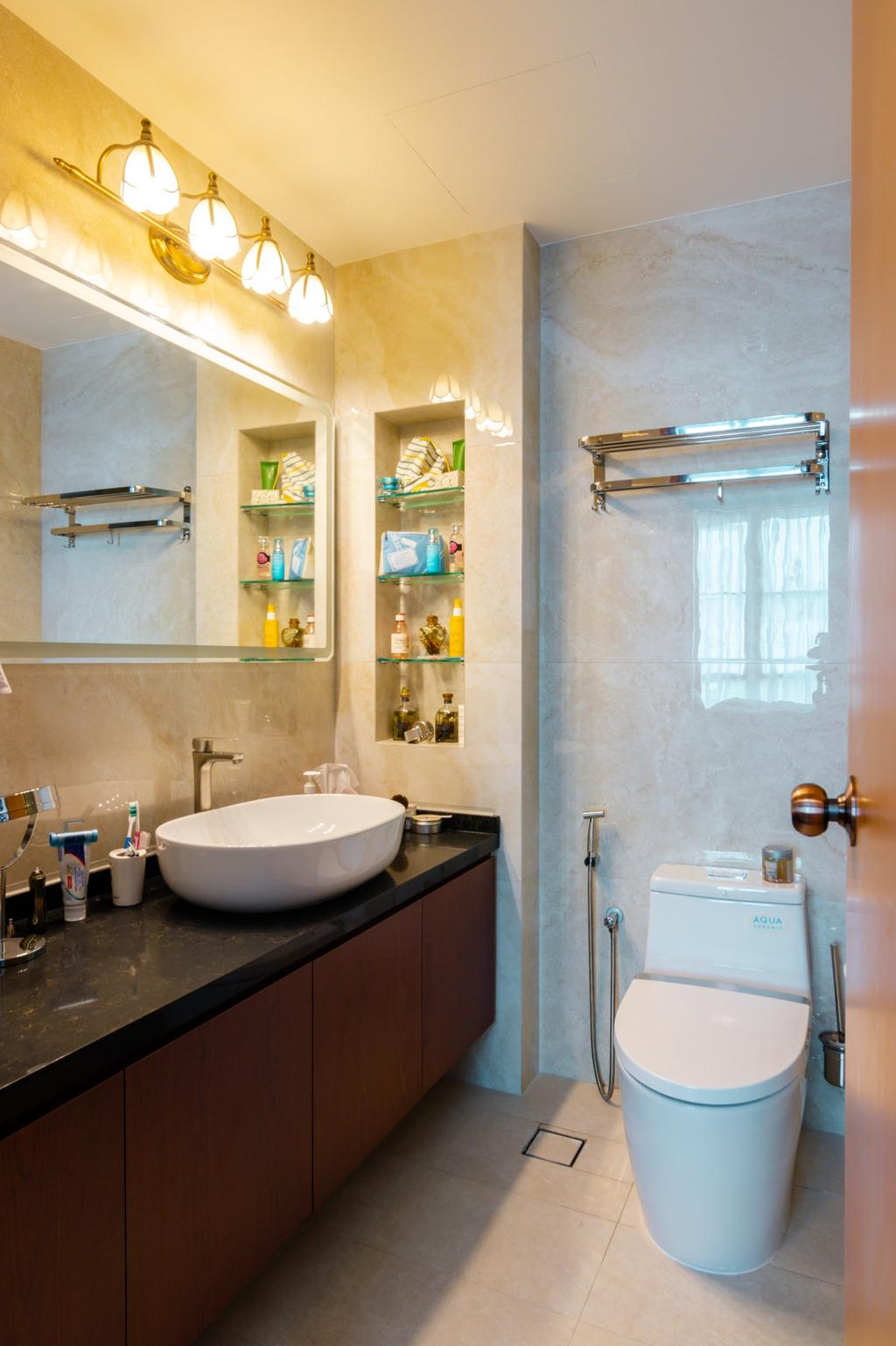 Contemporary, Condo, Bathroom, Paya Lebar Residences, Interior Designer, 9 Creation