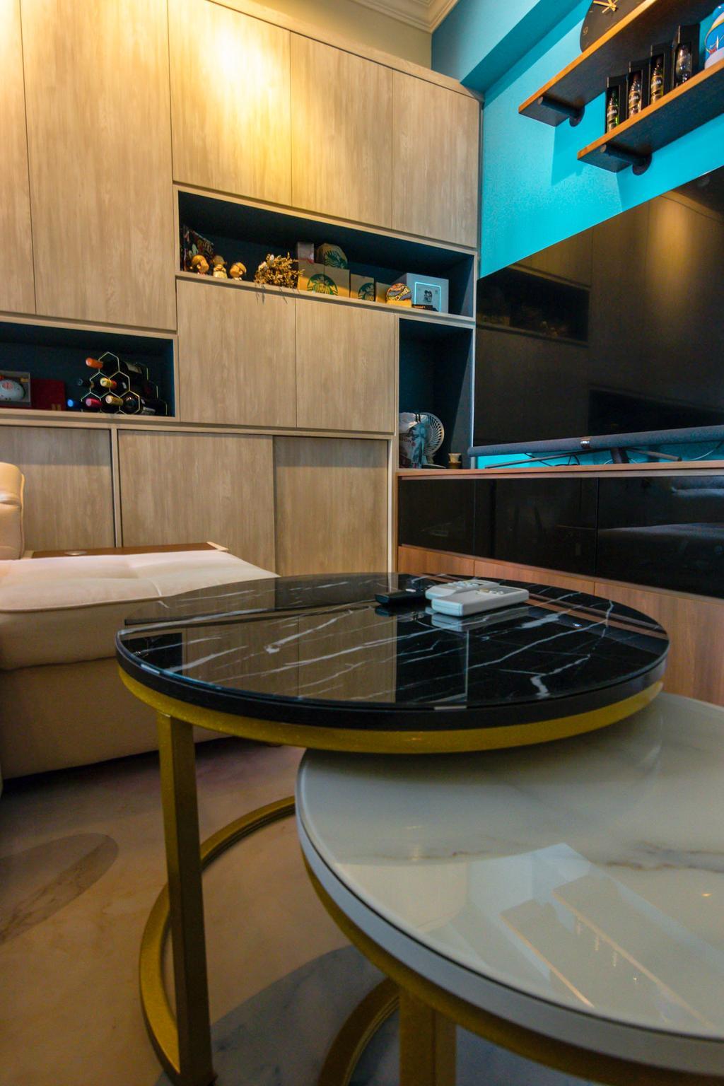 Contemporary, Condo, Living Room, Paya Lebar Residences, Interior Designer, 9 Creation