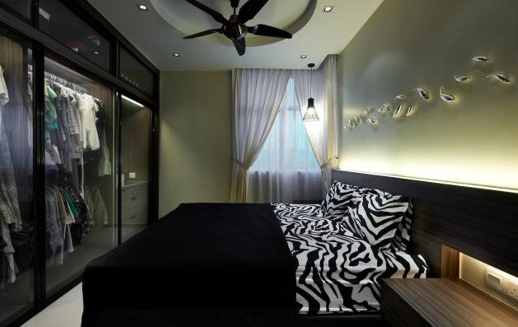 Modern, Condo, Bedroom, Mid Fields, Taman Sungai Besi, Interior Designer, Surface R Sdn. Bhd., Contemporary