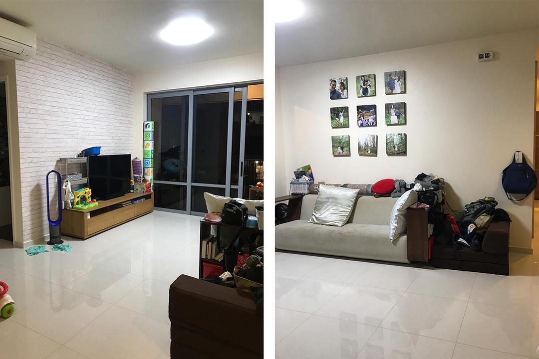 Tampines condominium renovation in Singapore Habit