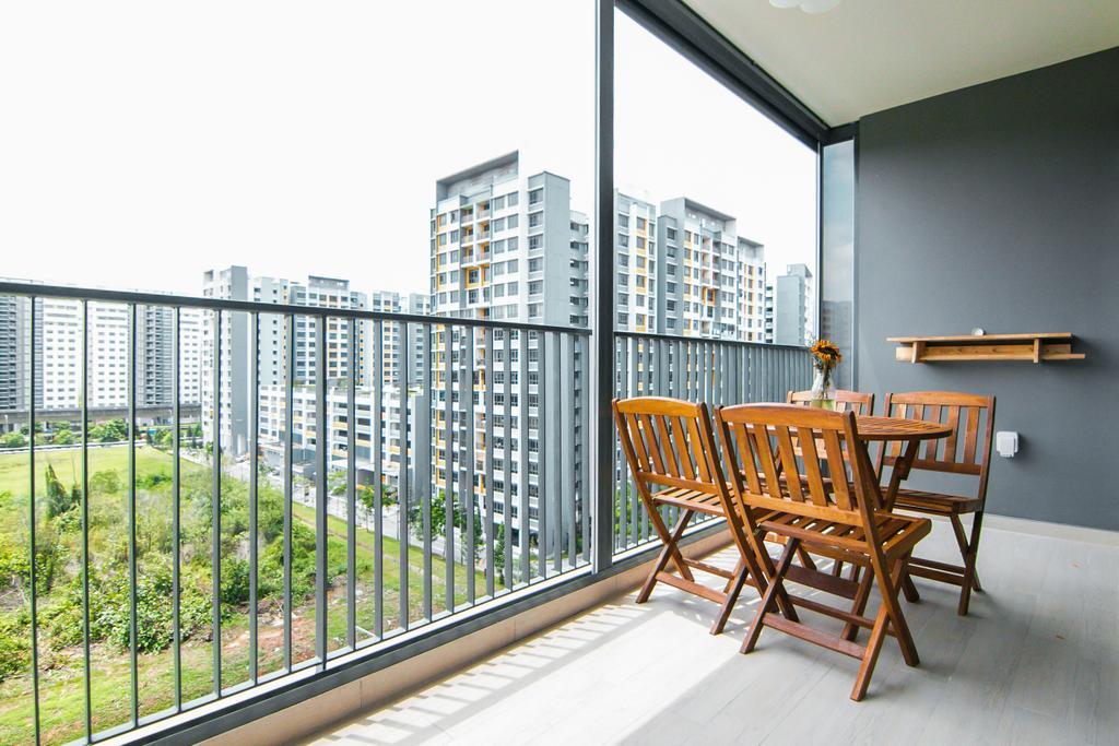 Contemporary, Condo, Balcony, Bellewaters, Interior Designer, 9 Creation