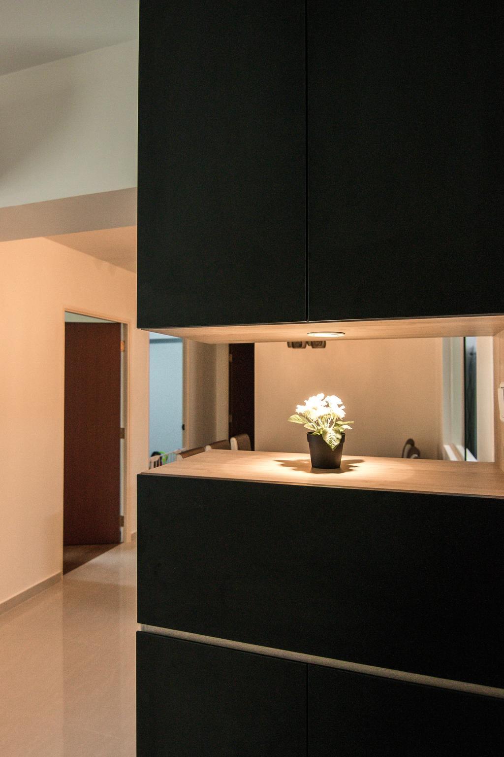 Contemporary, HDB, Living Room, Canberra Street, Interior Designer, 9 Creation