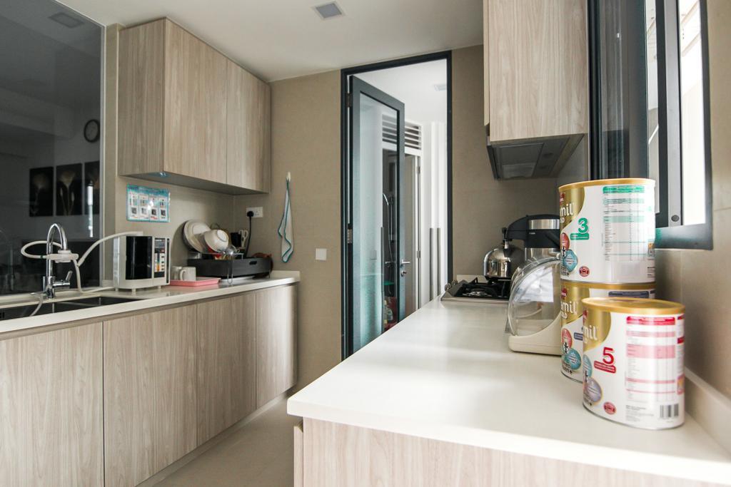 Contemporary, Condo, Kitchen, Seventy St. Patrick's, Interior Designer, 9 Creation