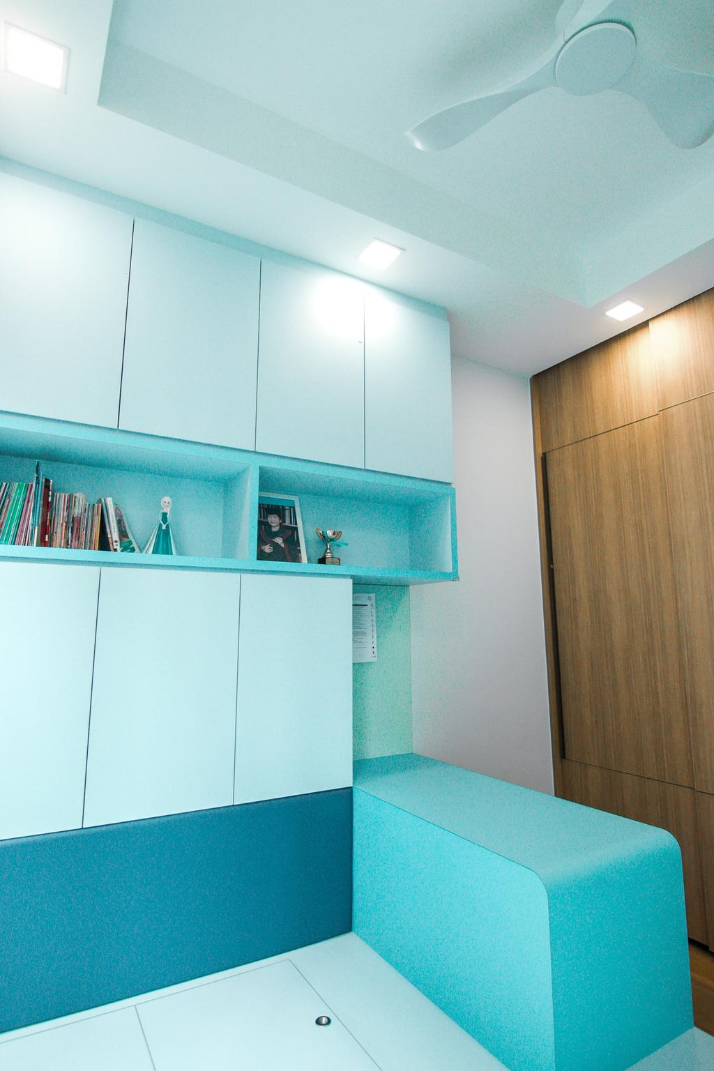 Contemporary, Condo, Study, Seventy St. Patrick's, Interior Designer, 9 Creation
