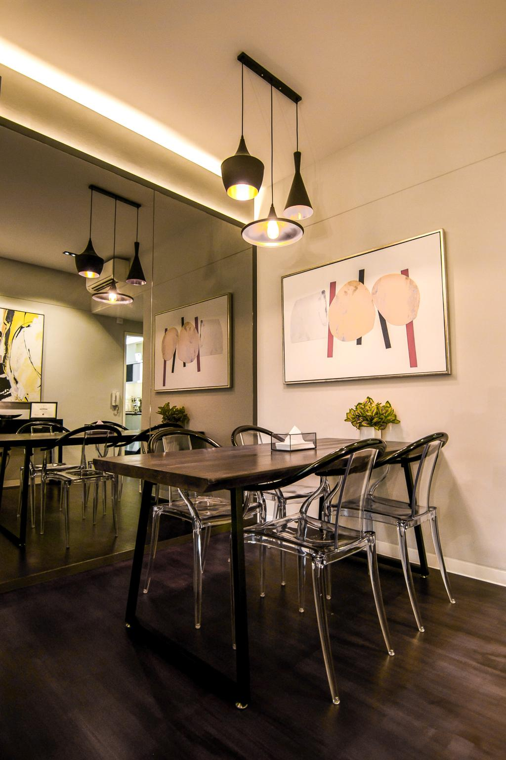 Contemporary, Condo, Dining Room, Village @ Pasir Panjang, Interior Designer, 9 Creation