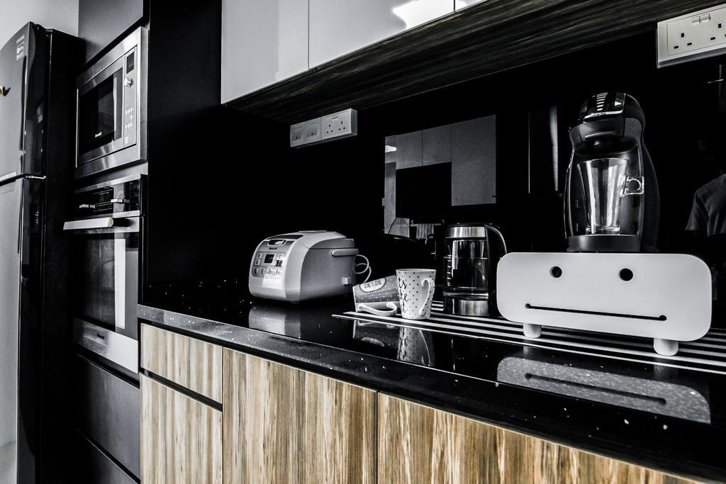 Contemporary, HDB, Kitchen, Tampines Street 83, Interior Designer, 9 Creation