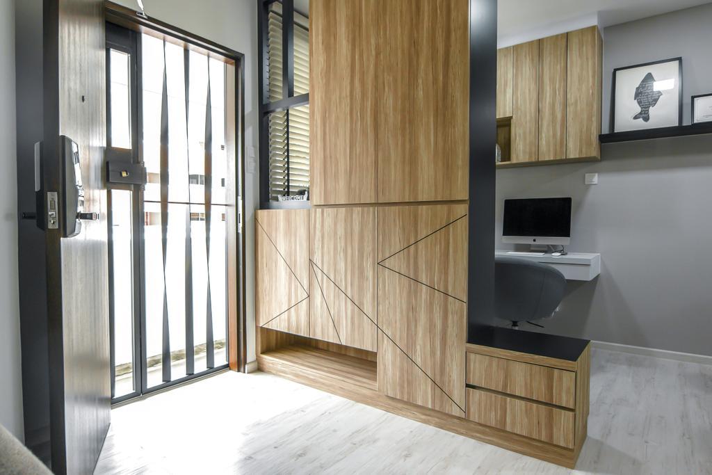Contemporary, HDB, Living Room, Tampines Street 83, Interior Designer, 9 Creation