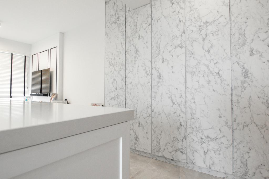 Contemporary, HDB, Living Room, Bendemeer Road, Interior Designer, 9 Creation, Minimalistic