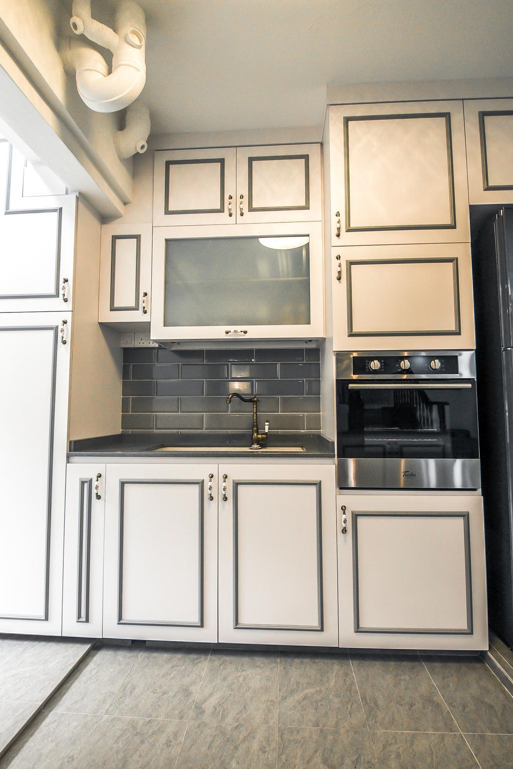 Modern, HDB, Kitchen, Woodlands Drive 50, Interior Designer, 9 Creation