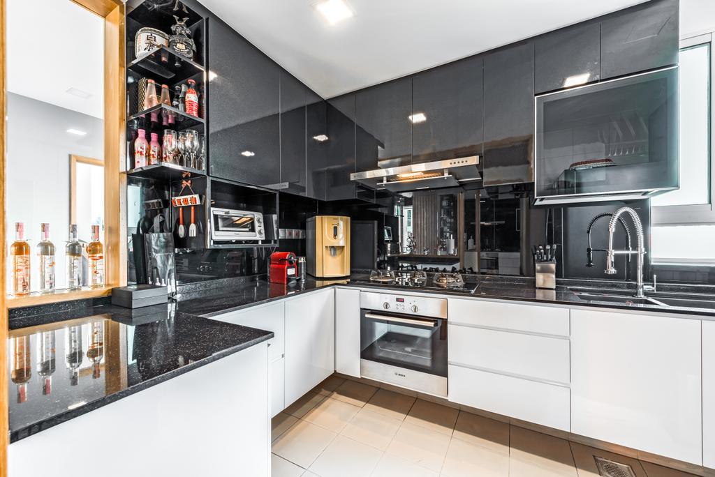 Contemporary, Condo, Kitchen, Ris Grandeur, Interior Designer, 9 Creation