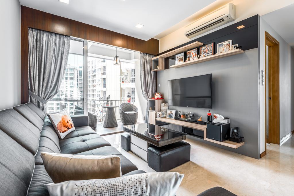 Contemporary, Condo, Living Room, Ris Grandeur, Interior Designer, 9 Creation