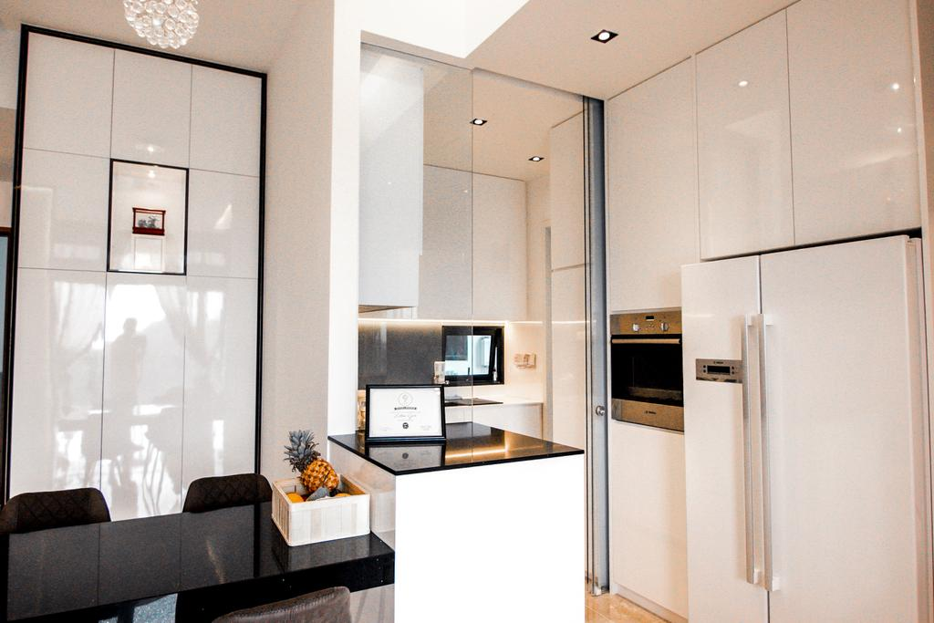 Contemporary, Condo, Kitchen, Eco Sanctuary, Interior Designer, 9 Creation