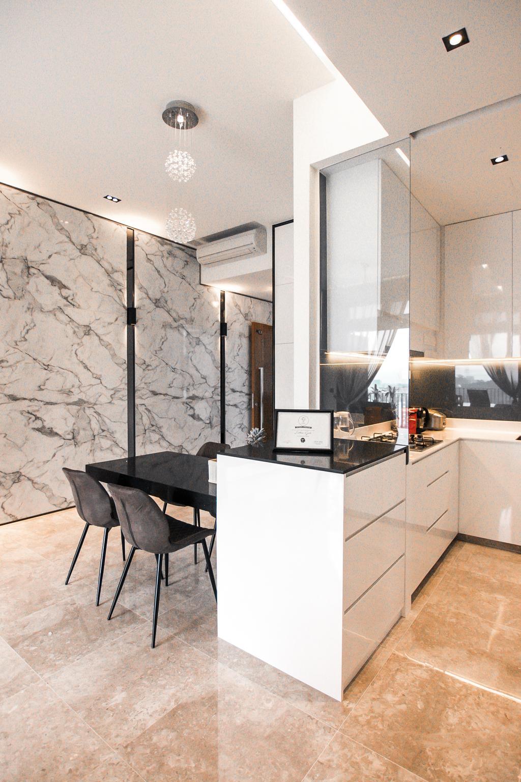 Contemporary, Condo, Dining Room, Eco Sanctuary, Interior Designer, 9 Creation