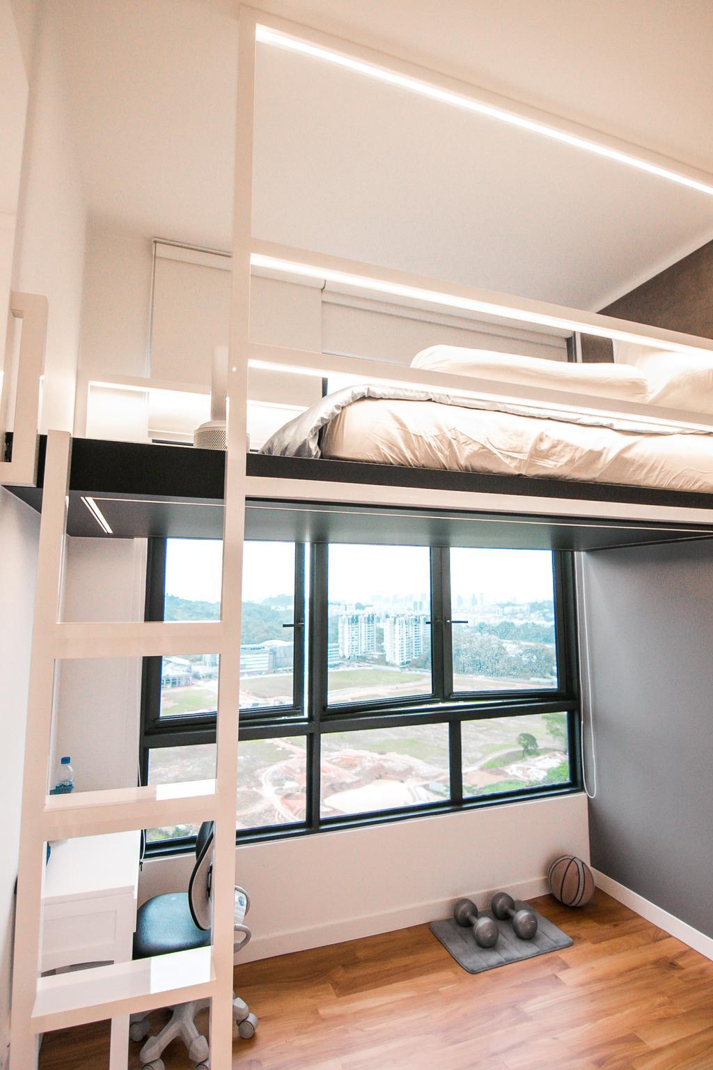 Contemporary, Condo, Bedroom, Eco Sanctuary, Interior Designer, 9 Creation
