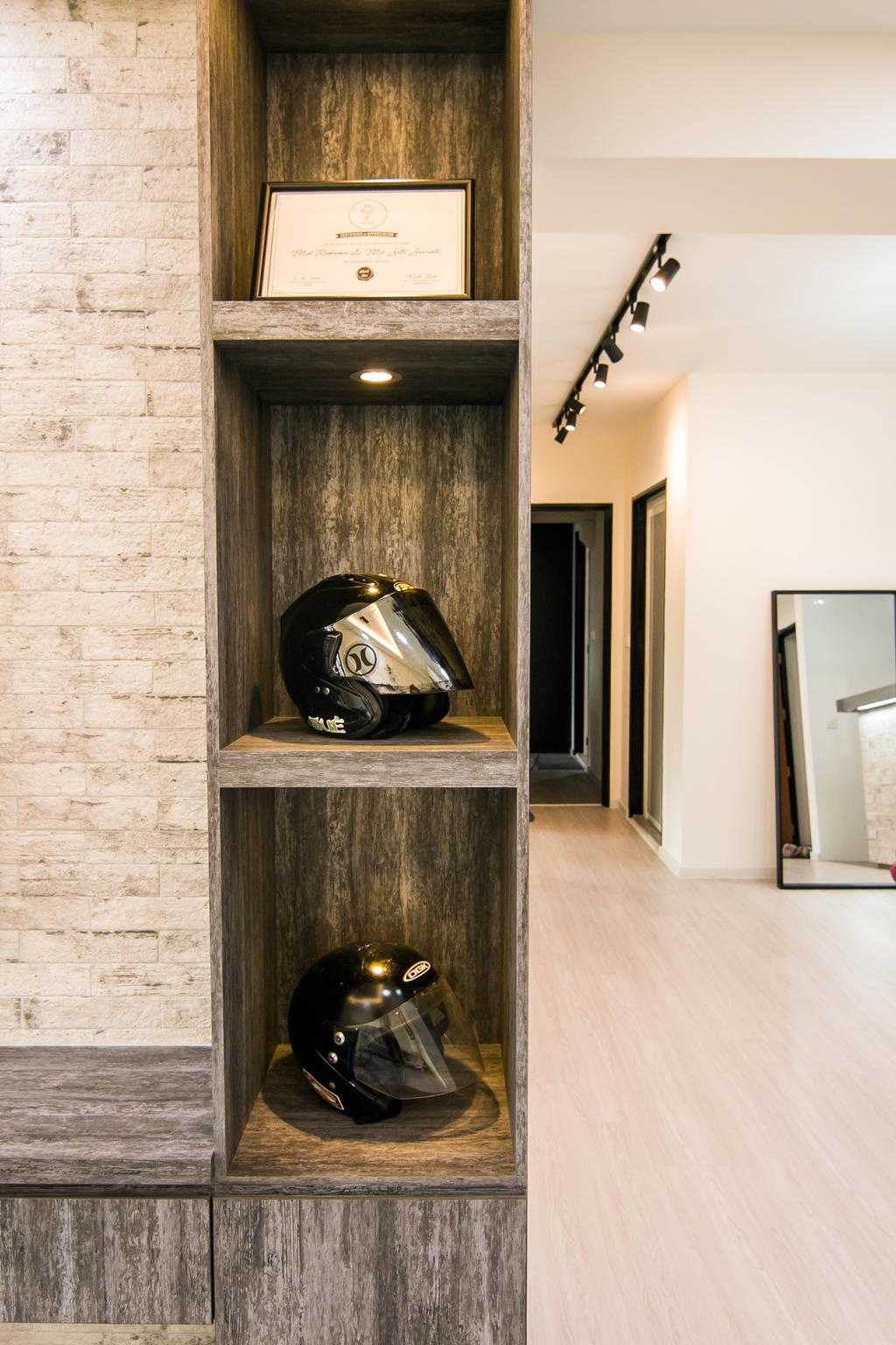 Contemporary, HDB, Living Room, Fernvale Link, Interior Designer, 9 Creation