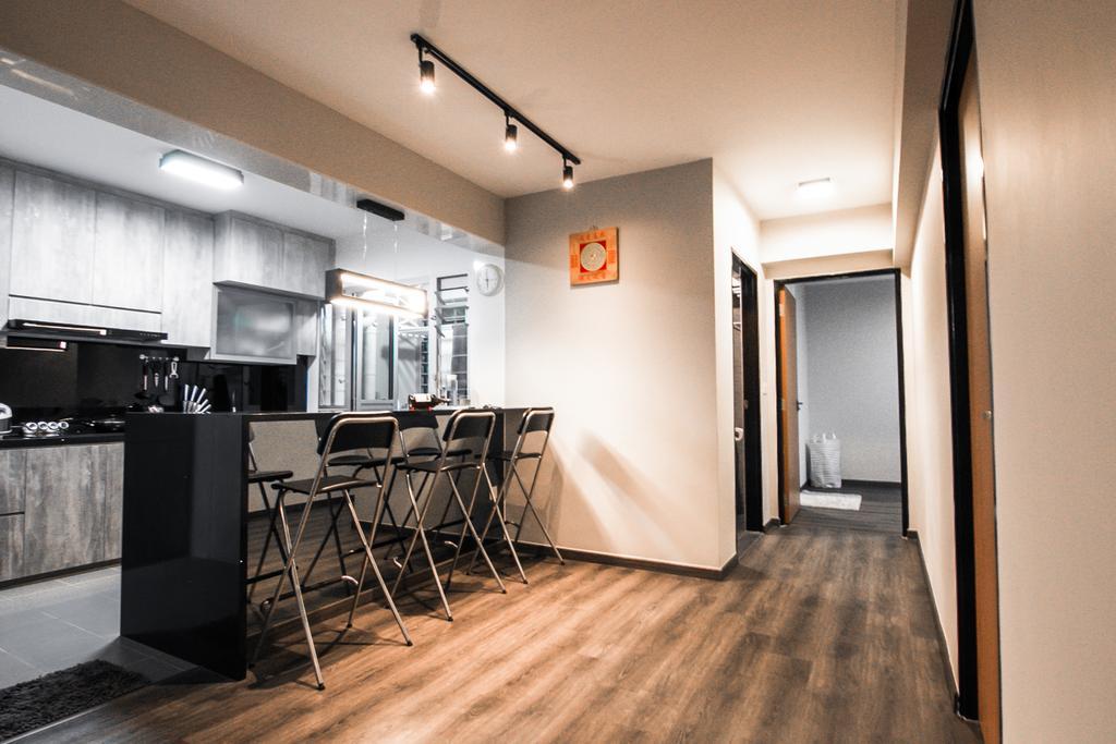 Contemporary, HDB, Dining Room, Jalan Tenteram, Interior Designer, 9 Creation, Modern