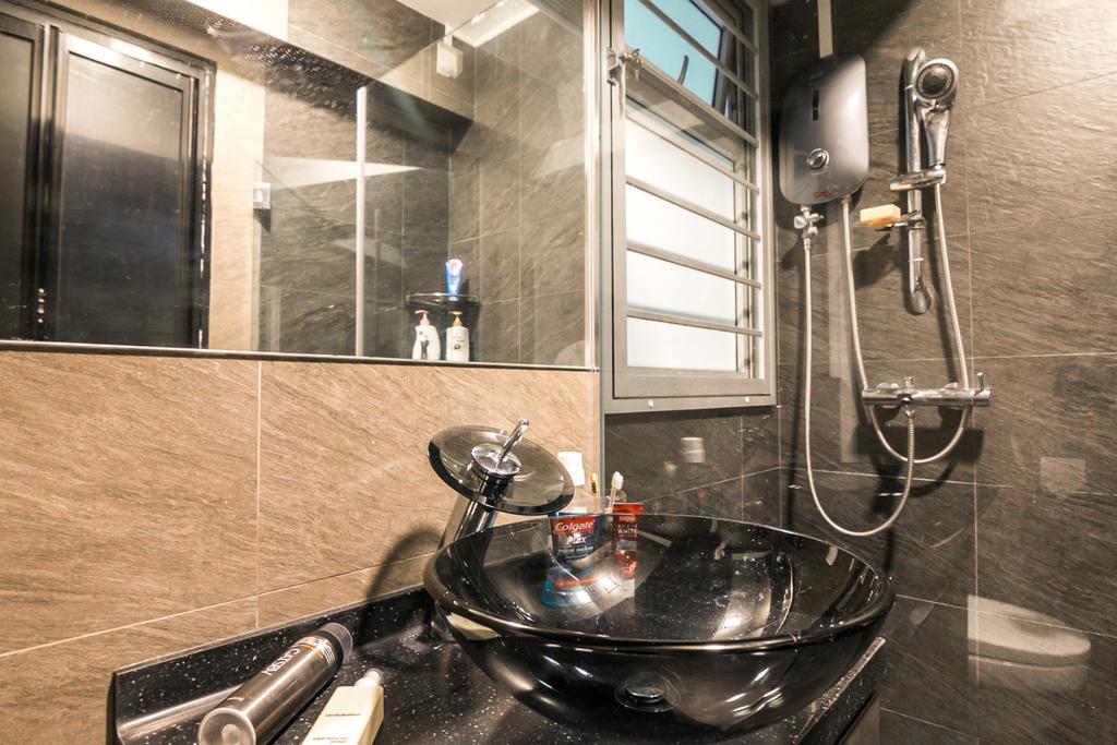 Contemporary, HDB, Bathroom, Jalan Tenteram, Interior Designer, 9 Creation, Modern