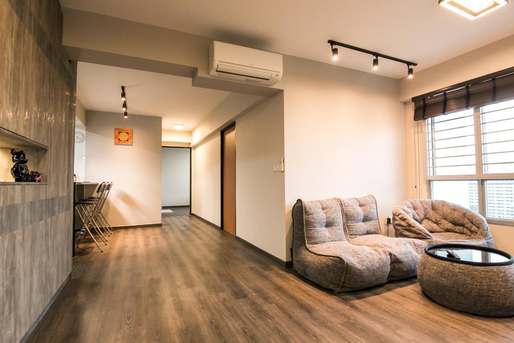 Contemporary, HDB, Living Room, Jalan Tenteram, Interior Designer, 9 Creation, Modern