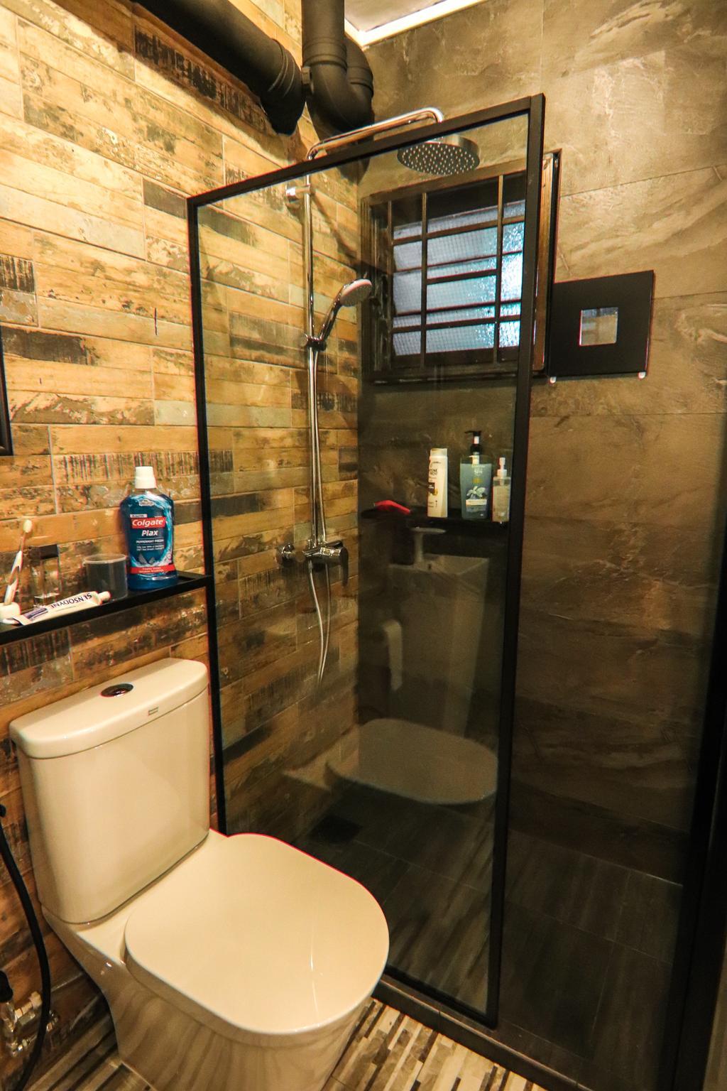 Industrial, HDB, Bathroom, Klang Lane, Interior Designer, 9 Creation