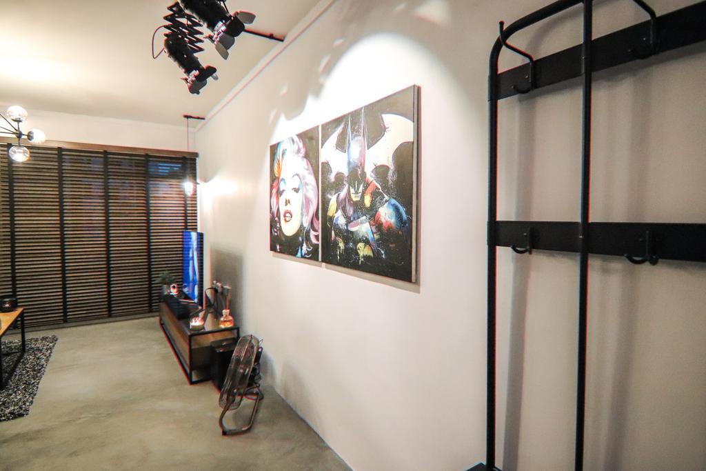 Industrial, HDB, Living Room, Klang Lane, Interior Designer, 9 Creation