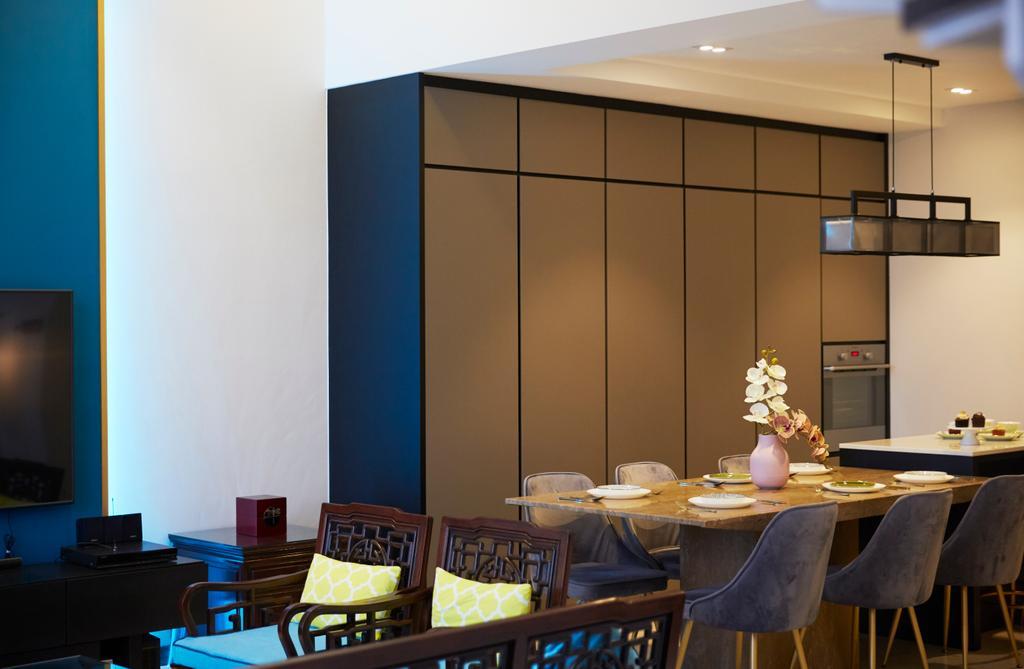 Contemporary, Condo, Dining Room, The Eden, Interior Designer, The Interior Lab