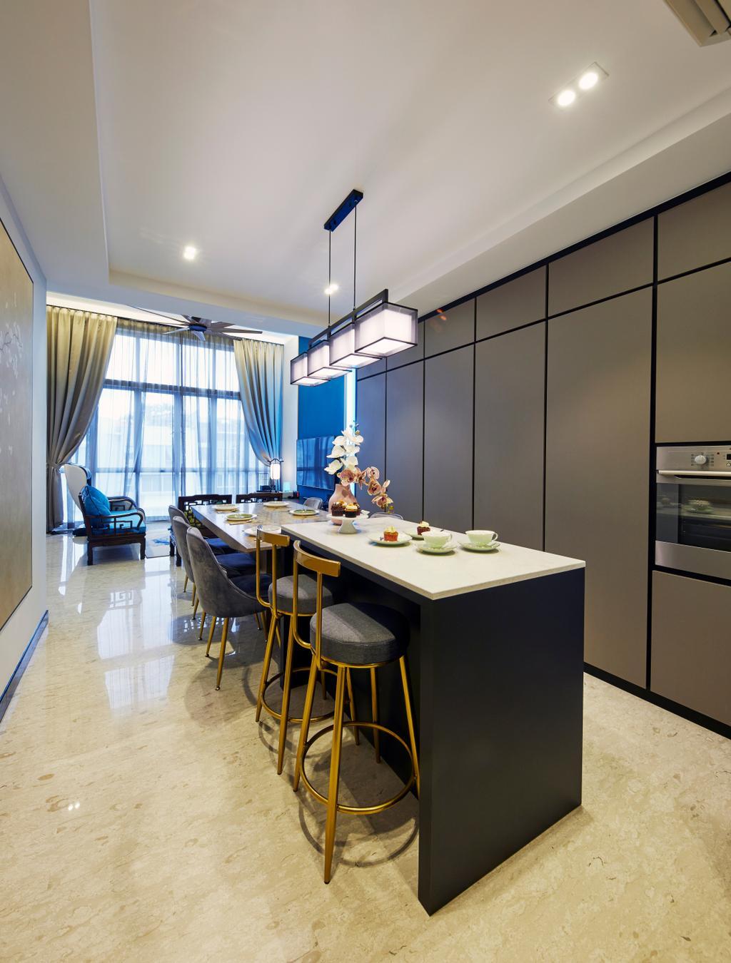 Contemporary, Condo, Kitchen, The Eden, Interior Designer, The Interior Lab