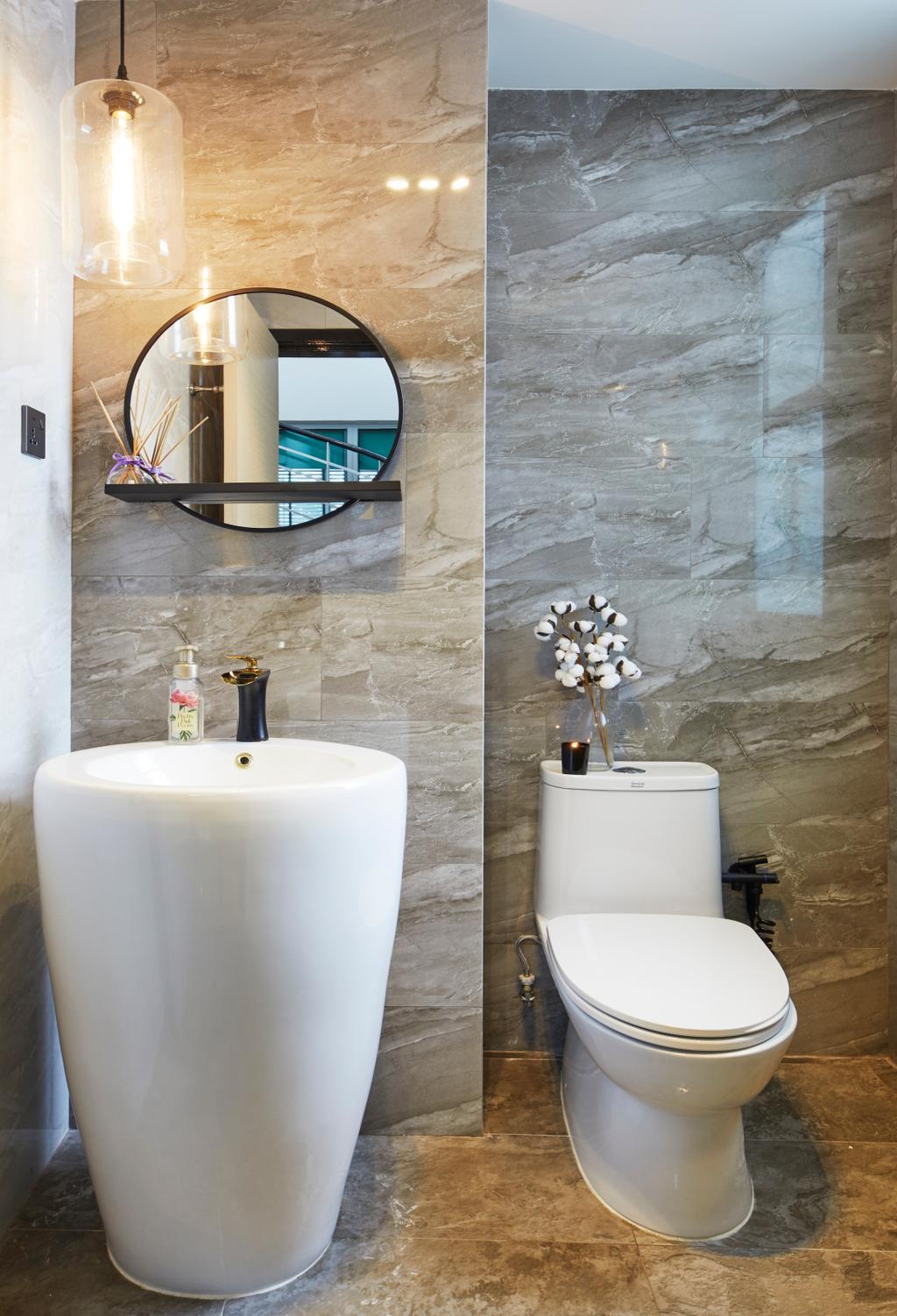 Contemporary, Condo, Bathroom, The Eden, Interior Designer, The Interior Lab