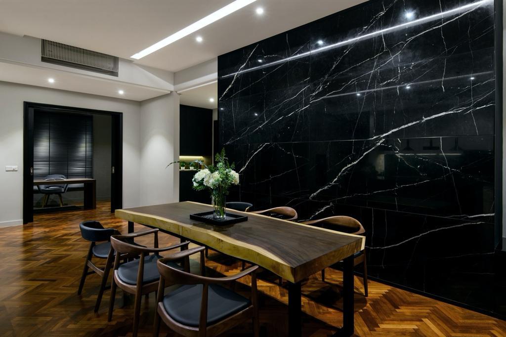 Modern, Apartment, Dining Room, Quayside, Tanjung Tokong, Interior Designer, Nevermore Group, Contemporary