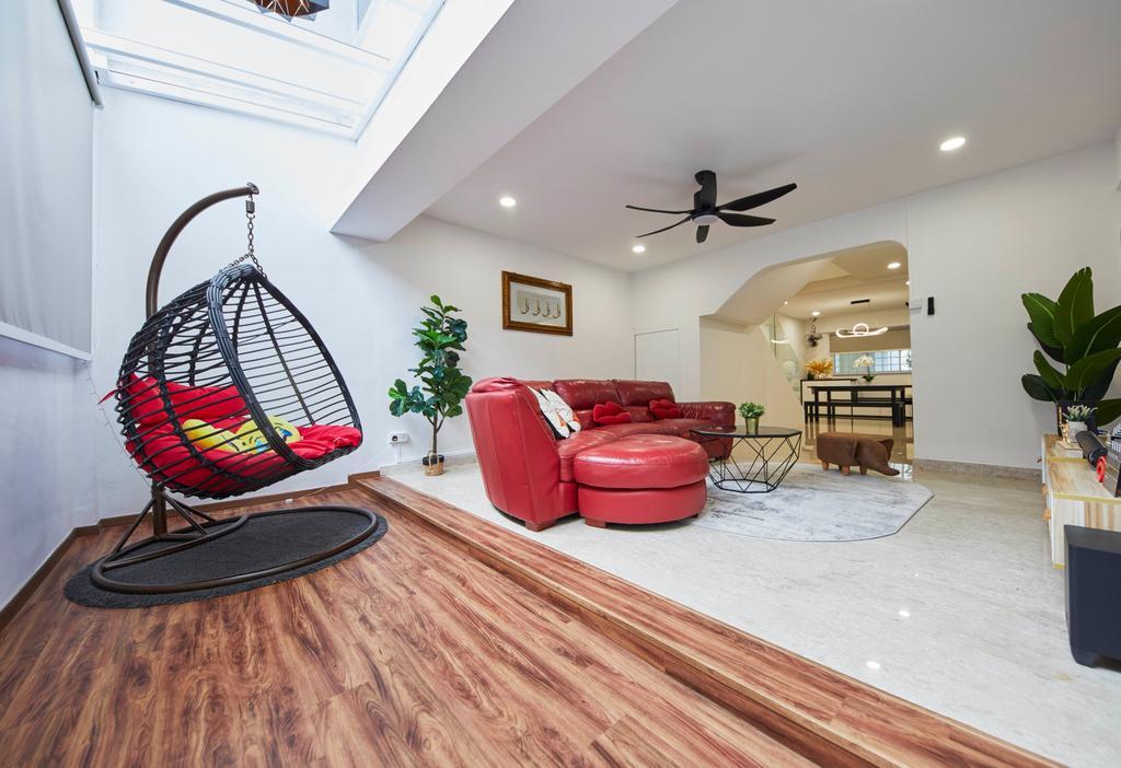 Contemporary, HDB, Balcony, Woodlands Street 82, Interior Designer, SHE Interior