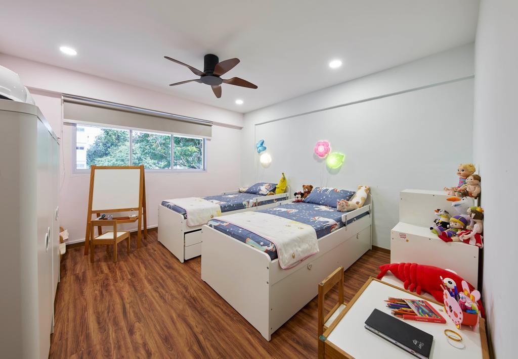 Contemporary, HDB, Bedroom, Woodlands Street 82, Interior Designer, SHE Interior