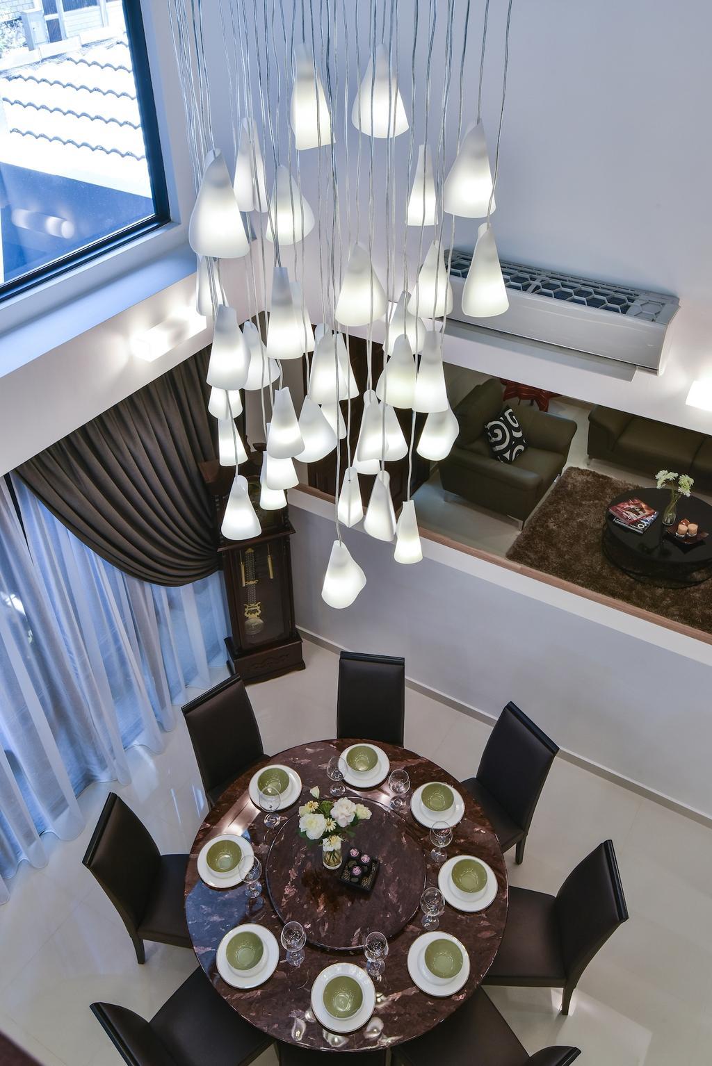 Modern, Landed, Dining Room, Sierra Damansara @ Kota Damansara, Interior Designer, Surface R Sdn. Bhd., Contemporary