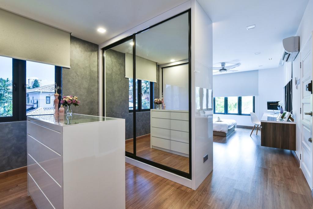 Modern, Landed, Bedroom, Sierra Damansara @ Kota Damansara, Interior Designer, Surface R Sdn. Bhd., Contemporary