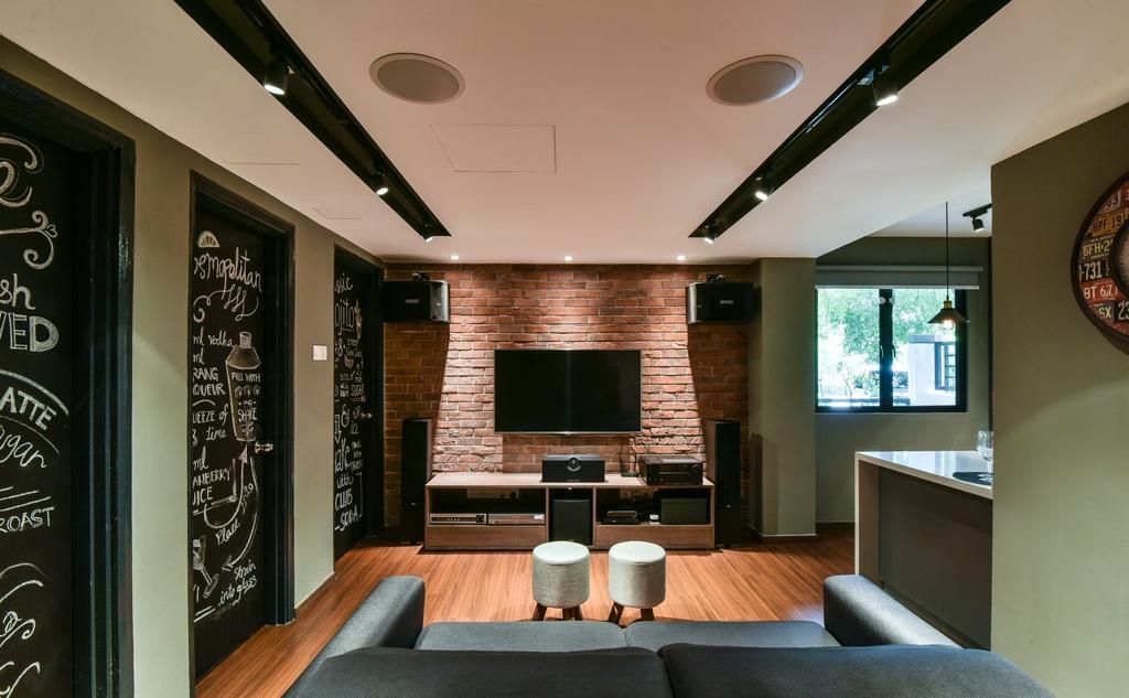 Modern, Landed, Valencia, Sungai Buloh, Interior Designer, Surface R Sdn. Bhd., Contemporary